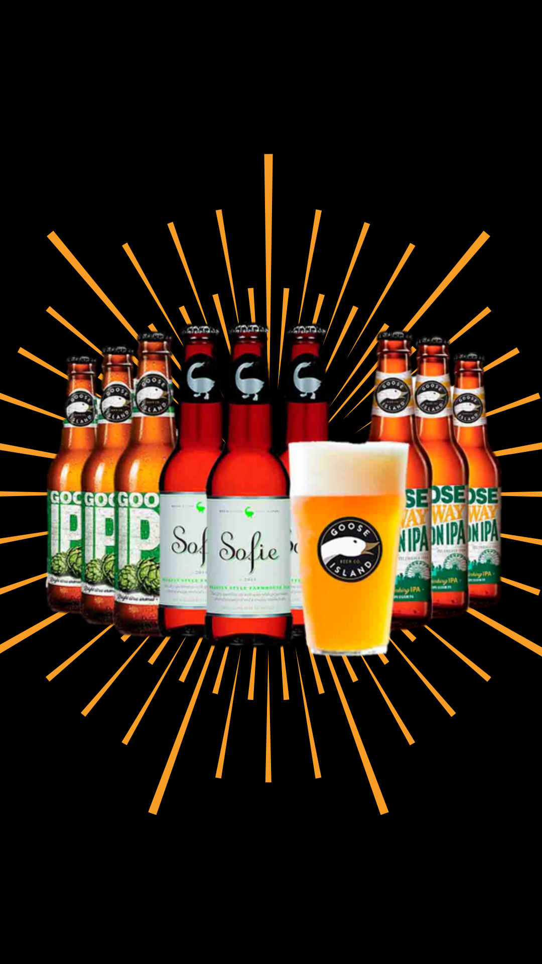 Kit Goose Island – Cervejas + Copo