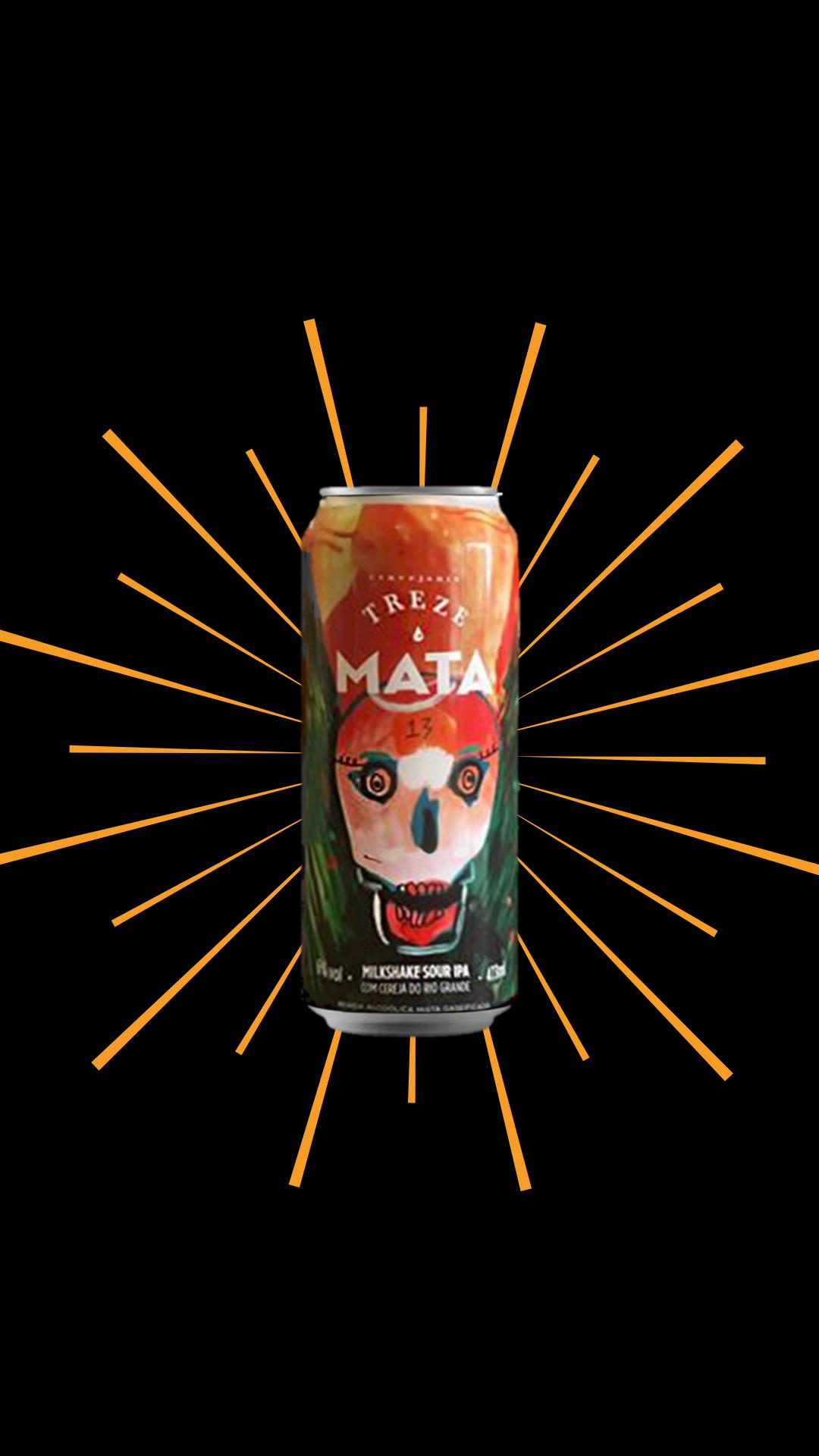 Mata Milk Shake Sour IPA – Treze