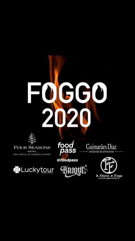 O chef Marcos Livi e o evento internacional Foggo