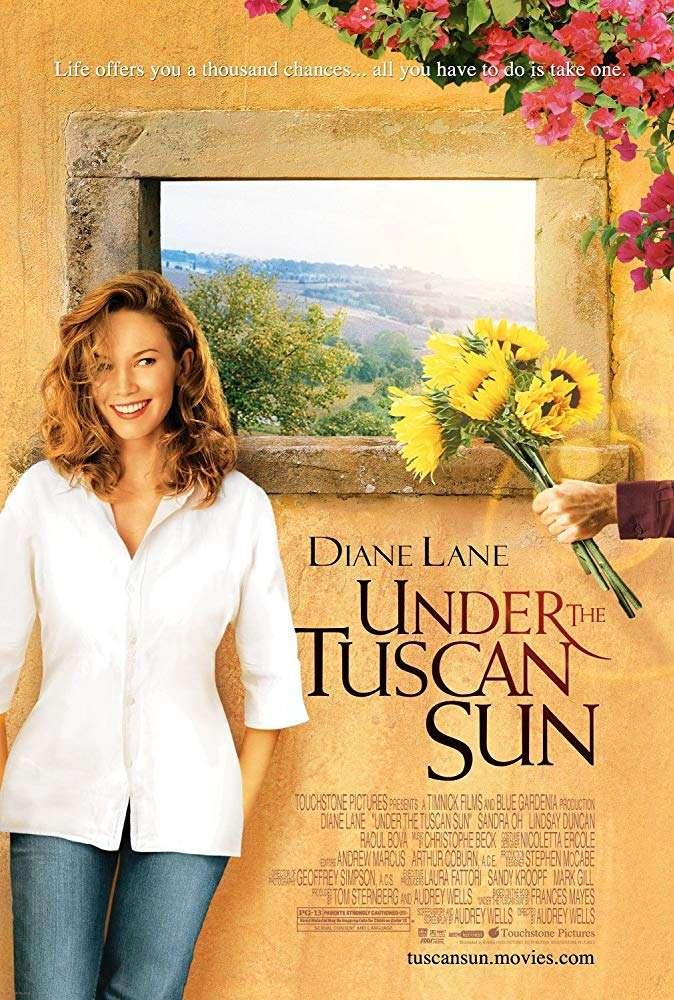 Sob o sol de Toscana (2003)