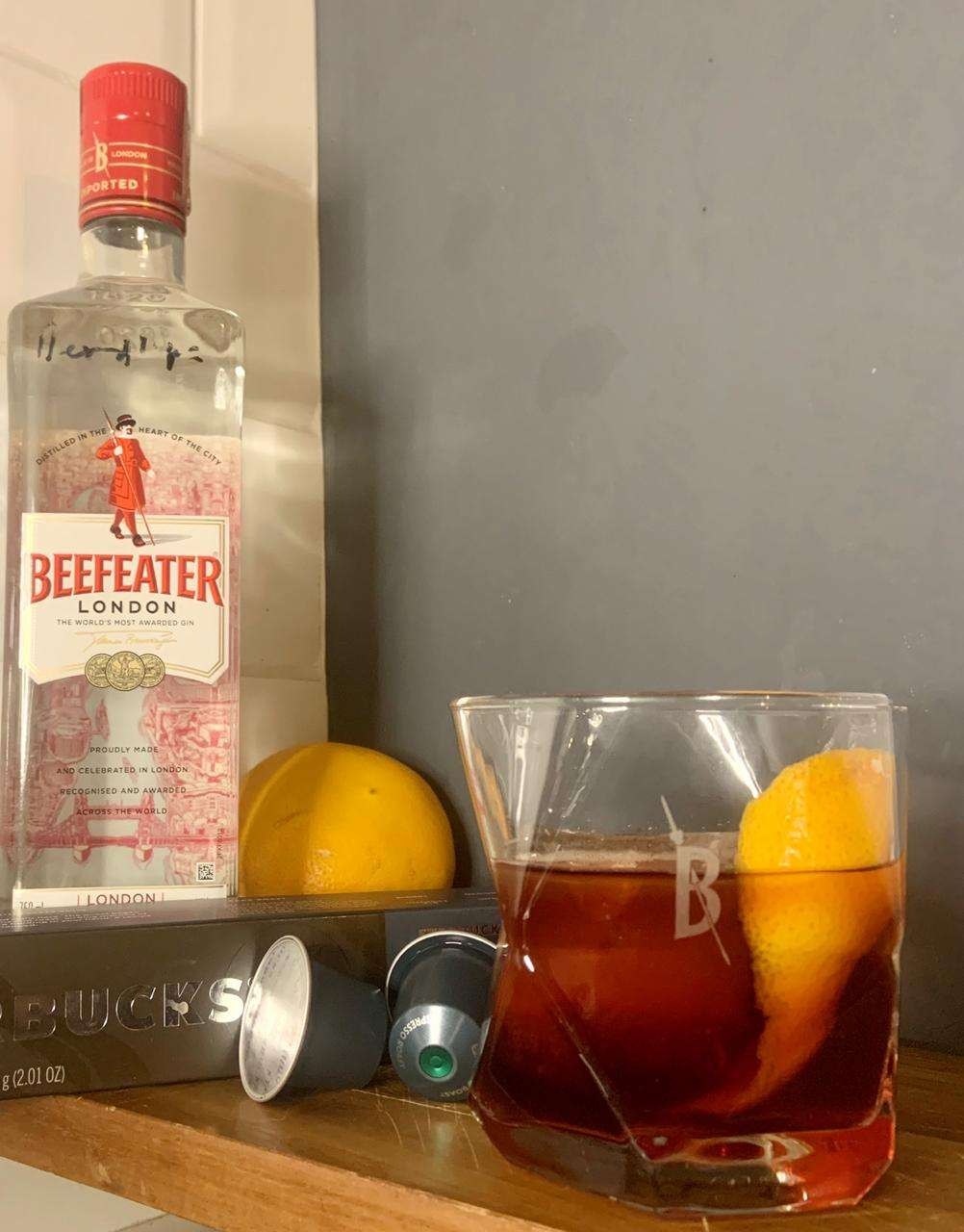 BEEFEATER & COFFEE NEGRONI