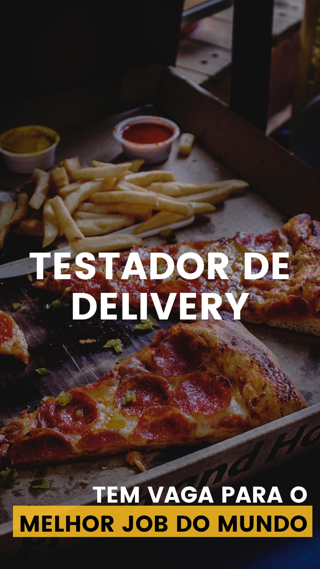 Testador de Delivery