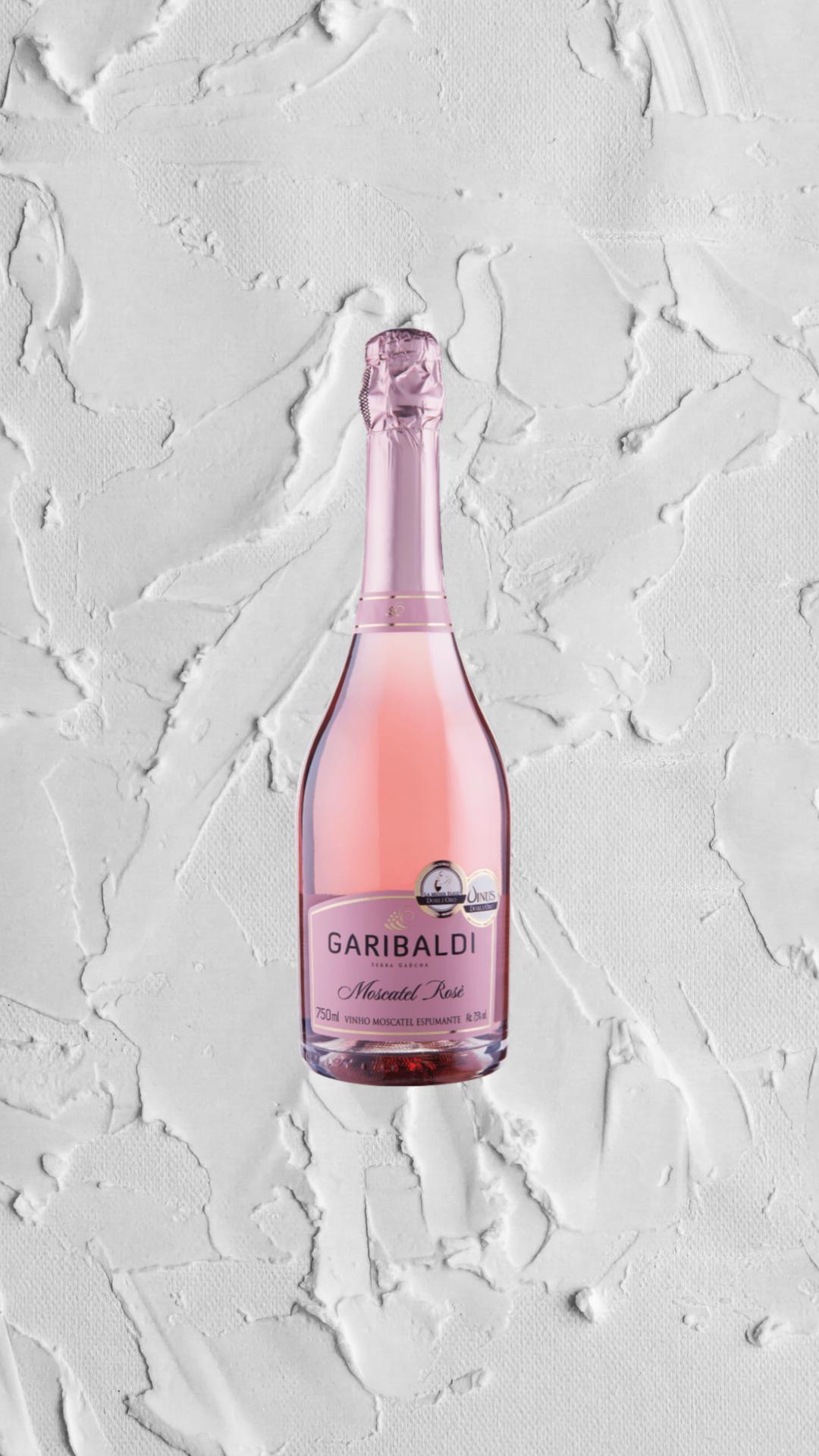 Espumante Garibaldi Moscatel Rosé