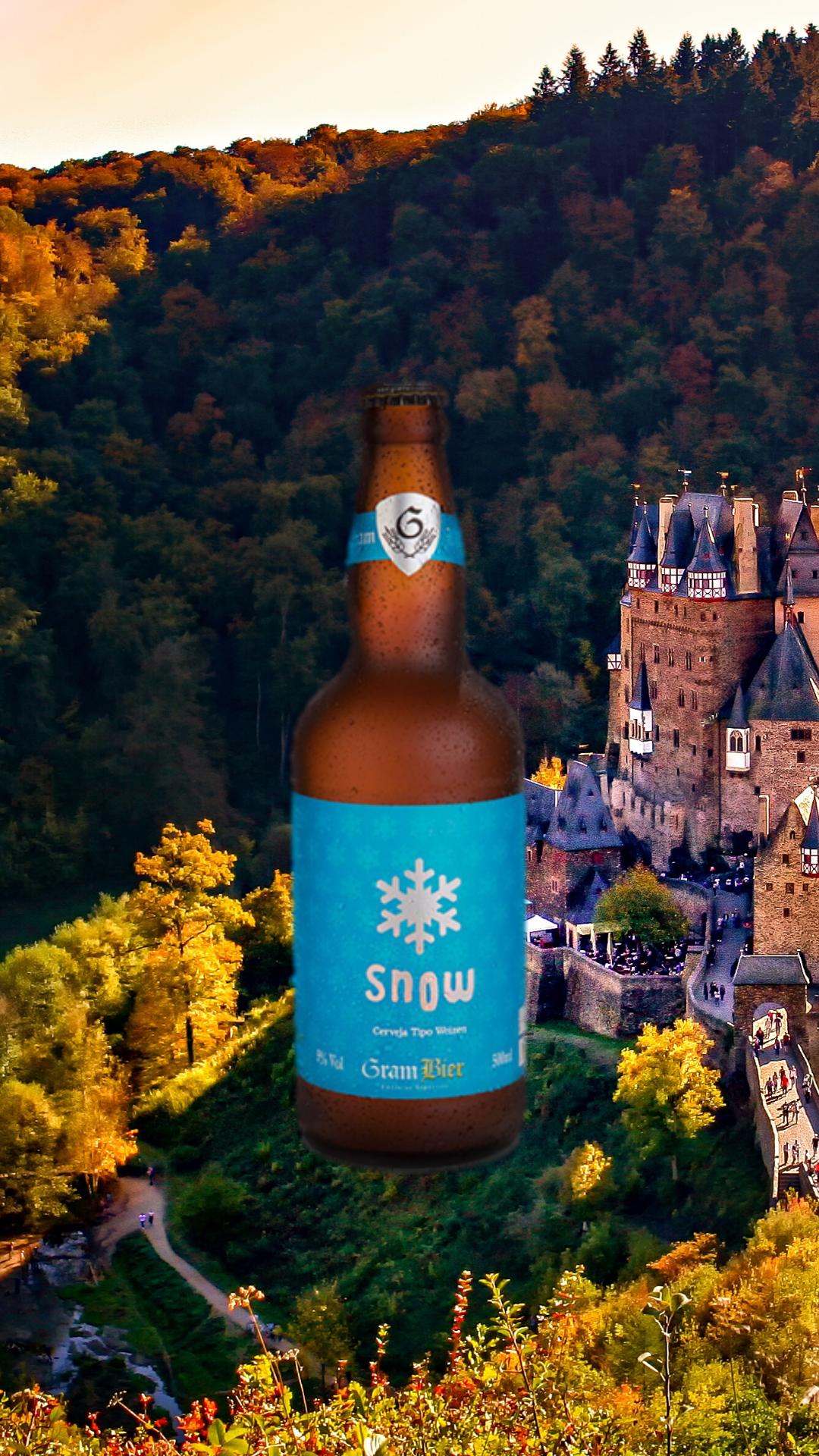 Gram Bier Weizen Snow